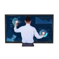 Quality Full 4K LED TV Touch Screen Board For Schools Ultra Narrow Black Aluminum Frame for sale