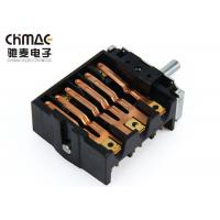 Quality High Temperture Selector Rotary Switch , Controller Rotary Fan Switch 250V 16A for sale
