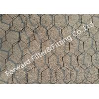 Quality Iron / stainless steel hexagonal wire netting for protecting mesh fence , Length Customized for sale