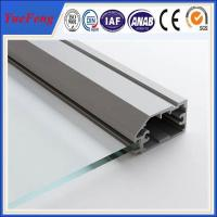 Quality factory aluminium glass door frame profile, aluminium bathroom doors, aluminium door frame for sale