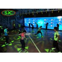 Quality High Class P8.928 LED Dance Floor Waterproof / Dance Floor Tile Screen Rent , 5000 Cd/Sqm led dance floor panels for sale