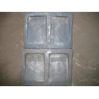 Quality High Cr Boltless Shell Liners Cast Iron with Heat Treatment Hardness More Than HRC52 for sale