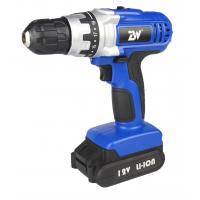 China Lithium Power Tools DIY Cordless Electric Drill Driver 12 Volt / 14.4v with Li-ion 1.3Ah Battery on sale