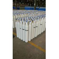 Quality 40L - 80L 150 bar  Seamless Steel Compressed Gas Cylinder For High Purity Gas ISO9001 for sale