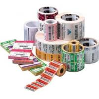 Quality Waterproof PVC Self Adhesive Labels Roll , Pantone Color Direct Thermal Labels for sale
