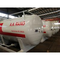 Quality 10000 Liters LPG Storage Tank For 5mt Completed Propane Gas Filling Plant for sale