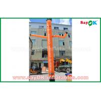 Quality Red / Orange / Blue Inflatable Air Dancer / Sky Dancer with With CE Blower for Outdoor Advertising for sale
