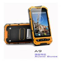 Quality A9 Android Intelligent 3 Proof Museum Audio Guide Equipment With Lion Battery for sale