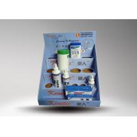 Buy Small Bottle cardboard counter top display For Advertising / Paper Counter Rack at wholesale prices