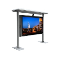 """Quality 43"""" 4000cd/m2 2000 Nits Floor Standing Digital Signage 3600W for sale"""