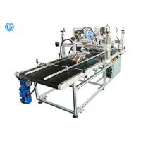 Quality Double Side Automatic Labeling Machine For Big Cardboard Box High Efficiency for sale