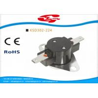 Buy cheap Automatic reset Bimetal Snap Disc Thermostat KSD302-244 240V / 25A For home from wholesalers