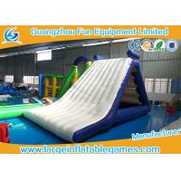 Quality Fun Summer Jumping Inflatable Water Park Backyard Water Slides For Adults for sale