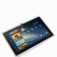 China 7-inch A13 Capacitive Android 4.0 Tablet PC with Flash 11/Camera/3G Dongle on sale
