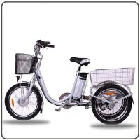 China CE Approved 36V 250W White Electric Tricycles Lithium Battery 3 Wheel Electric Bike on sale