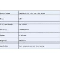 Buy Concrete Pump Parts SANY LCD Screen at wholesale prices