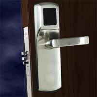 Quality FCC Hotel Electronic Door Locks , Electronic Front Door Lock Stainless Steel Material for sale