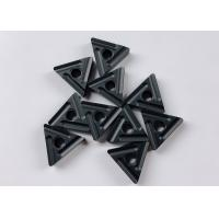Quality Heat Resistant Triangle CNC Machine Insert Black Color For Cast Iron for sale