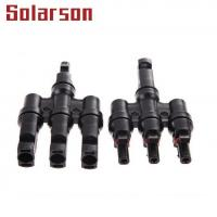 China 1000VDC MC4 Multi Branch Solar Connector IP67/IP2X for sale