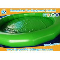 Quality Fire Retardant PVC Tarpaulin Large Inflatable Pool For Inflatable Water Roller for sale