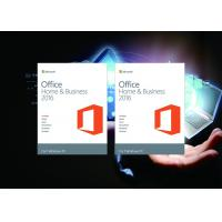 Quality 100% Original Office Home And Business 2016 Online Activate Multi Language For Mac / Win for sale