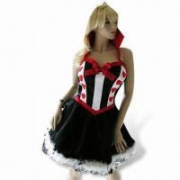 Quality Party Costumes, Includes Crown and Collared Petticoat Dress for sale