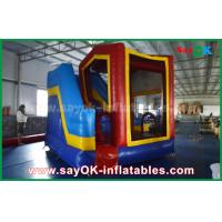 Quality PVC Outdoor Miniones Inflatable Bouncer Slide / Kids Bounce Jumping House for sale