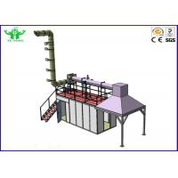 China Full Scale Room Corner Heat Release Rate Fire Testing Equipment 6 KW 380V 50HZ on sale