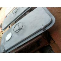 A60 Fireproof Marine Doors Weathertight Double Leaf Steel And Aluminum for sale