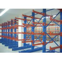 Quality Warehouse Steel Structural Cantilever Storage Racks for Tubular Material for sale