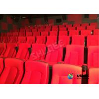 Quality Frequency Vibration Effect Red Movie Theater Seats / Chairs Easy Installation for sale