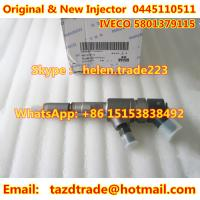 Quality BOSCH Original and New Fuel Injector 0445110511 fit IVECO 5801379115 for sale