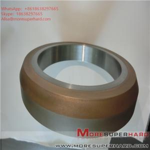 Quality 175*25*127*10 D35 Metal bonded diamond grinding wheel, glass grinding wheel, diamond superhard grinding wheel for sale