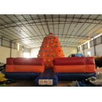 Quality Customized Climbing Wall Inflatable 6 X 6 X 4.5m , Inflatable Water Slide Climbing Wall for sale
