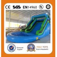 China 2014 commercial grade inflatable pool water slide on sale