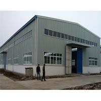 Quality Multi Span Prefabricated Steel Structure Industrial Prefab Factory Building for sale