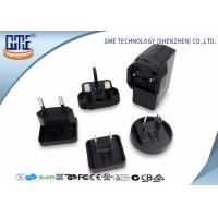 Quality Black EU US UK AU Plug 5V 2A USB Universal Travel Adapter for Visual Products for sale
