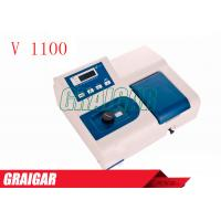 Quality V1100 Desktop Medical Single Beam Visible Spectrophotometer 350 - 1020nm for sale