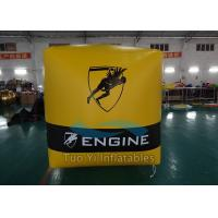 Quality PVC Tarpaulin Inflatable Buoys Inflatable Cube / Sailing Marks For Racing Event for sale