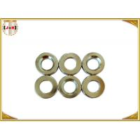 Quality Nickel Finish Sew On Magnetic Button Clasp 18mm Diameter Die Casting Products for sale