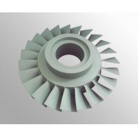 China High temperature nickel base alloy turbo compressor wheel with vacuum investment casting on sale