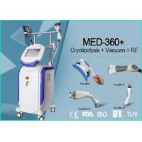 Quality Vertical 4 Handles Cryolipolysis Machine , Non Surgical Body Contouring Machine for sale