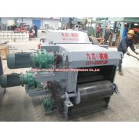 Small Mobile Drum Chipper Machine Electric Power Type 15 Ton Per Hour for sale