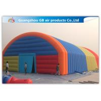 China Giant Inflatable Party Tent Inflatable Structure Multi Color , 18*10m for sale