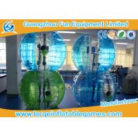 Quality Blue Striped Color Inflatable Bubble Soccer Human Loopy Ball CE / UL Approved for sale