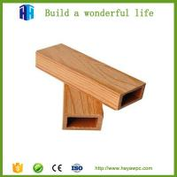 Quality 2018 new design artificial wood plastic hollow solid outdoor wpc floor for sale