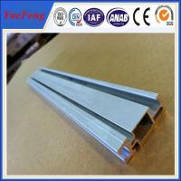 Quality Solar panel mounting aluminum rail solar mounting rail, solar rails anodized aluminium for sale
