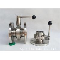 1 TP316L Sanitary Stainless Steel Valves And Butterfly Vavles ASTM A270 for sale
