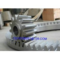 Quality Forging Straight Bevel Gear Of Reduction Box , Casting Segment Bevel Gears for sale