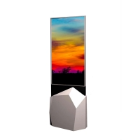 """Quality 110W Android 55"""" 450cd/㎡ Free Standing Digital Signage for sale"""